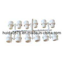 PVC-Form- / Form-männlicher Adapter
