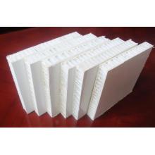Paneles de panal de fibra de vidrio con recubrimiento en gel
