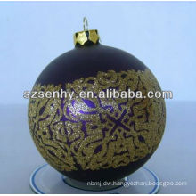 2013 hanging glass ball candle holder