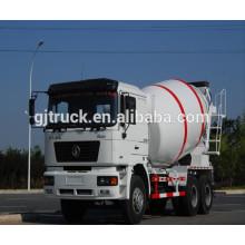 2018 modelo F3000 Shacman caminhão betoneira / misturador de cimento / caminhão misturador usado / caminhão de mistura / misturador da bomba