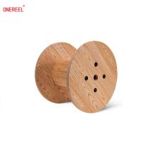 Bobina de cable de alambre de madera
