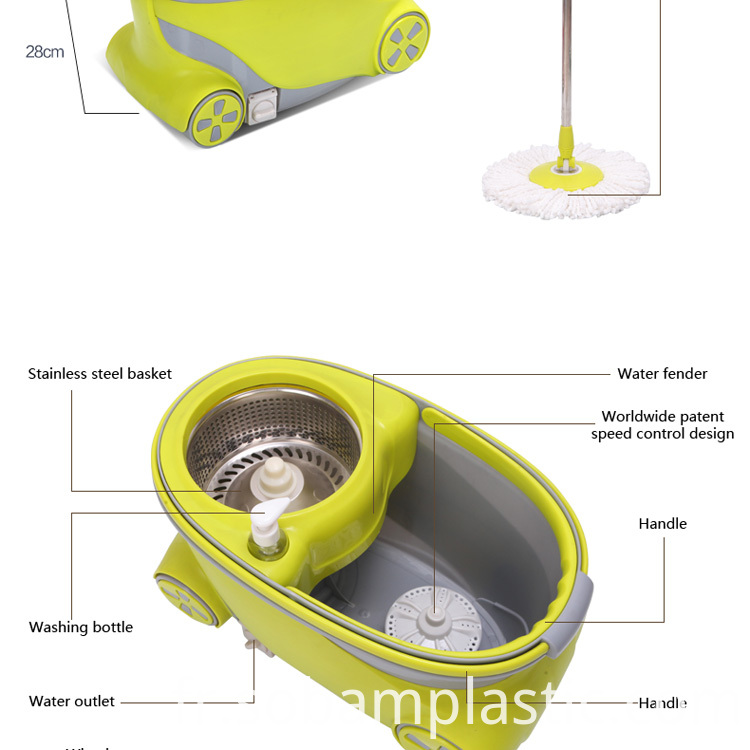 SPIN MOP SIZE