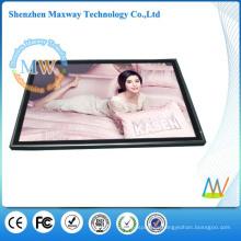 Escritorio de 19 pulgadas o montaje en pared LCD HD Fotograma de gran tamaño digital