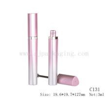 Fancy pink refreshing color mascara tube slim mascara tube gradient pink mascara tube