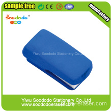 Blue Stapler coloridas borrachas, Free Sample Eraser