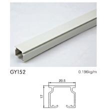 Perfil de perfil de aluminio recubierto en polvo