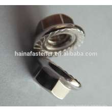 DIN6923 Stainless Steel Hexagon Head Flange Nut