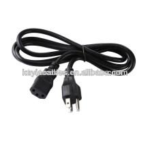 De alta calidad Plug 2-Prong Port Cable de cable de alimentación para portátil Ps2 Ps3