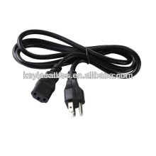 high quality Plug 2-Prong Port Ac Power Cord Cable For Laptop Ps2 Ps3