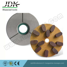 Disques de meulage diamantés durables pour la surface de pierre de process