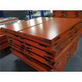12mm Thick Orange Color Aluminum Honeycomb Ceiling Panels