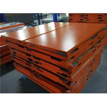 12mm dicke orangefarbene Aluminium-Waben-Deckenpaneele