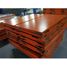 12mm Thick Orange Color Aluminum Honeycomb Ceiling Panels