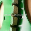 precio de fábrica y rueda de perfil de diamante de pulido rápido para pastillas de freno