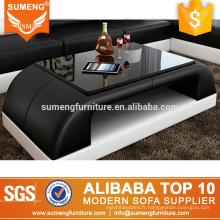 SUMENG moderne hôtel en bois meubles hobby lobby table basse