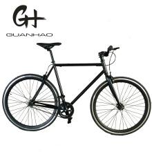 700c Colorful Matte Black Ce Fixed Gear Bike