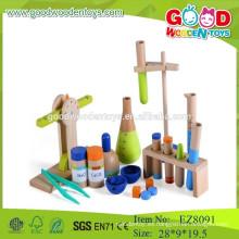 Conjunto de juego de madera conjunto de juego de ciencia