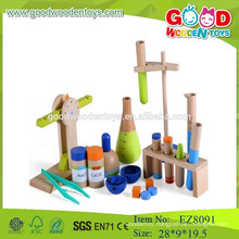 wooden play set science play set science pretend play set