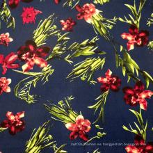 Tejido de algodón de impresión de moda para prendas de vestir