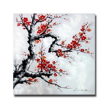 Original criou a pintura a óleo moderna da flor