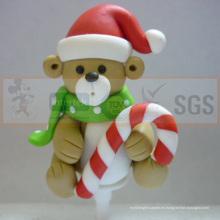 2015 nuevo producto Navidad decoraciones de la arcilla del polímero