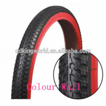 Colour Wall Touring Bicycle Tyre With Popular Pattern