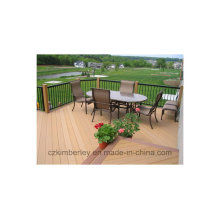 Made in China Solid Wood Plastic Composite Decking WPC Decking Laminate Flooring
