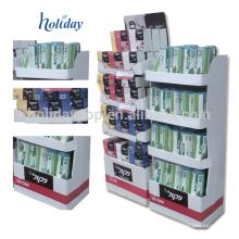 Exhibir el quiosco de la alameda para el cepillo de dientes, tenedor del cepillo de dientes, exhibición del quiosco de la alameda de compras