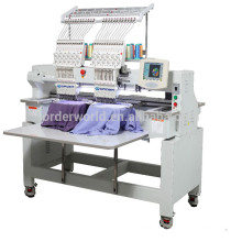 2 heads family /commercial Top quality manufacturer computerized embroiderymachine price