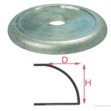 Nuevo sti tps almohadillas de pulido de diamante tipo de bloque de esponja de mano ruedas de borde redondo