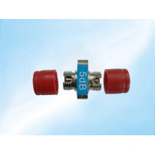 Atenuador óptico de la fibra del FC del solo modo