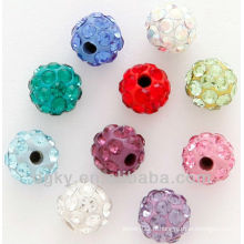 Fashion Ferido Crystal Balls Mix Couleurs Tiny
