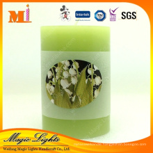 Simple Green Tea Scented Candle