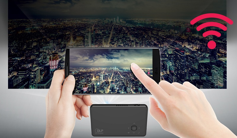 Pocket Portable Projector