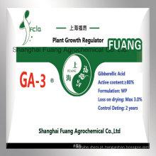 Crescimento de plantas Biotech Ácido giberélico (A3) Solúvel em água 40% Wdg Gibberellin