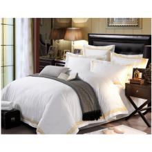 Ropa de cama blanca de algodón (WS-2016329)