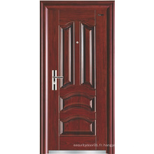 Panneau classique Simple Design Steel Security Door