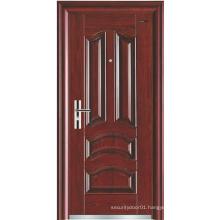 Classic panel Simple Design Steel Security Door