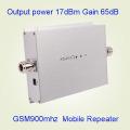 Amplificador de señal de la red GSM900MHz del extensor de la señal del teléfono móvil 900MHz, repetidor de la señal del G / M