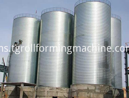 Steel Strip Spiral Steel Silo Forming Machine