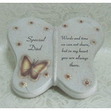 Resin Butterfly Tombstone, Resin Headstone Crafts (SFR1202)