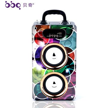 Factory Price 20W 2000mAh Bluetooth Portable Wireless Speakers karaoke system empty speaker box