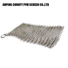 Hot Sale Finger Good Quality Chain Mail Cast Iron Scrubber 316