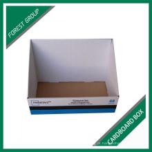 Caixa de embalagem de papel de carrinho de exposição de alta qualidade