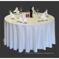 baratos y de alta calidad 100% poliéster manteles para hotel de banquete de boda