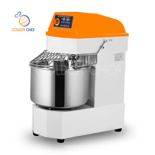 Golden Chef single phase bakery pastry shop 20 liter 8kg flour dough spiral mixer bread bakery machine bakery equipment prices