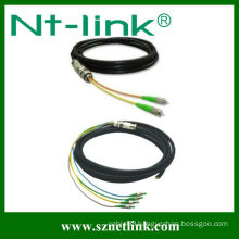 Simplex/duplex waterproof fiber optic pigtail