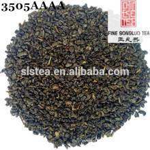 chá de pólvora de alta qualidade em tipo de bola de huangshan songluo