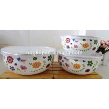 carbon steel ice bowl witj enamel coating & best price ice bowl