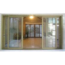 Puertas deslizantes de aluminio múltiples de alta calidad (FT-D126)